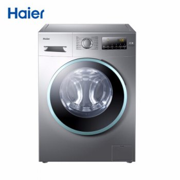 海尔(Haier)双喷淋告别泡沫残留 8公斤变频滚筒洗衣机EG8012B39SU1